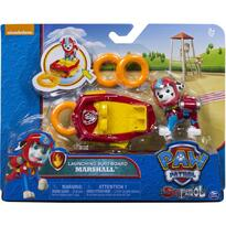 Spin Master Set Figurine Deluxe Paw Patrol Marshall