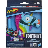 Hasbro Nerf Microshots Fortnite Rainbow Smash