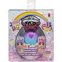 Spin Master Pixies Set Papusa Cu 2 Hatchimals Surpriza Unicorn Party Si 15 Accesorii