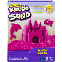 Spin Master Kinetic Sand Deluxe Culori Roz Neon 680grame