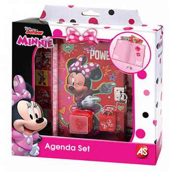 AS Set Agenda Si Accesorii Minnie