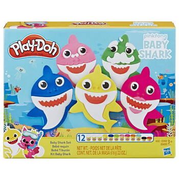 Hasbro Play Doh Set Baby Shark