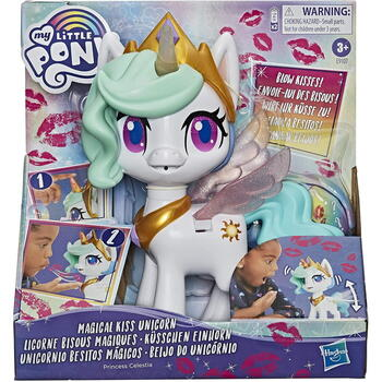 Hasbro Mlp Ponei Celestia Magical Kiss Unicorn
