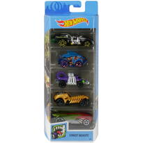 Mattel Set 5 Masini Hot Wheels Street Beats