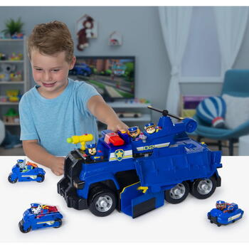 Spin Master Patrula Catelusilor Chase Ultimate Police Cruiser 5in1