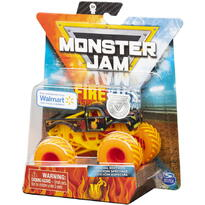 Monster Jam Masinuta Metalica Fire And Ice Personajul W