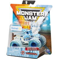 Monster Jam Masinuta Metalica Fire And Ice Bakugan Dragonoid