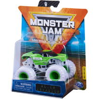 Monster Jam Masinuta Metalica Alien Invasion Scara 1 La 64