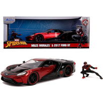 Simba Masina Metalica Spider-man Ford Gt 2017 Miles Morales