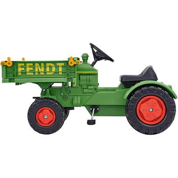 Simba Big Tractor Cu Pedale Fendt Platforma Si Claxon
