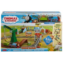 Mattel Thomas Set Motorizat Aventuri In Parcul Cu Animale