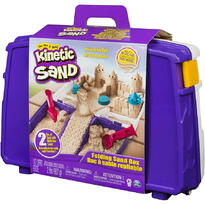 Spin Master Kinetic Sand In Cutie Cu Accesorii Si Maner