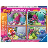 Ravensburger Puzzle Trolls, 4x100 Piese