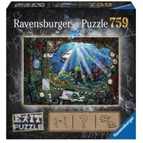 Ravensburger Puzzle Exit 4: In Submarin, 759 Piese