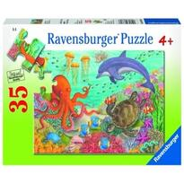 Ravensburger Puzzle Animale Din Ocean, 35 Piese