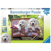 Ravensburger Puzzle Catei In Valiza, 100 Piese