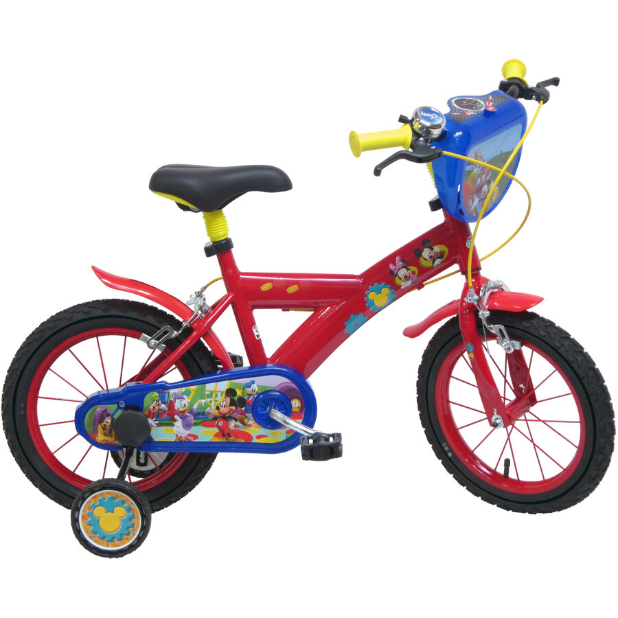 Bicicleta copii Mickey Mouse 14 inch