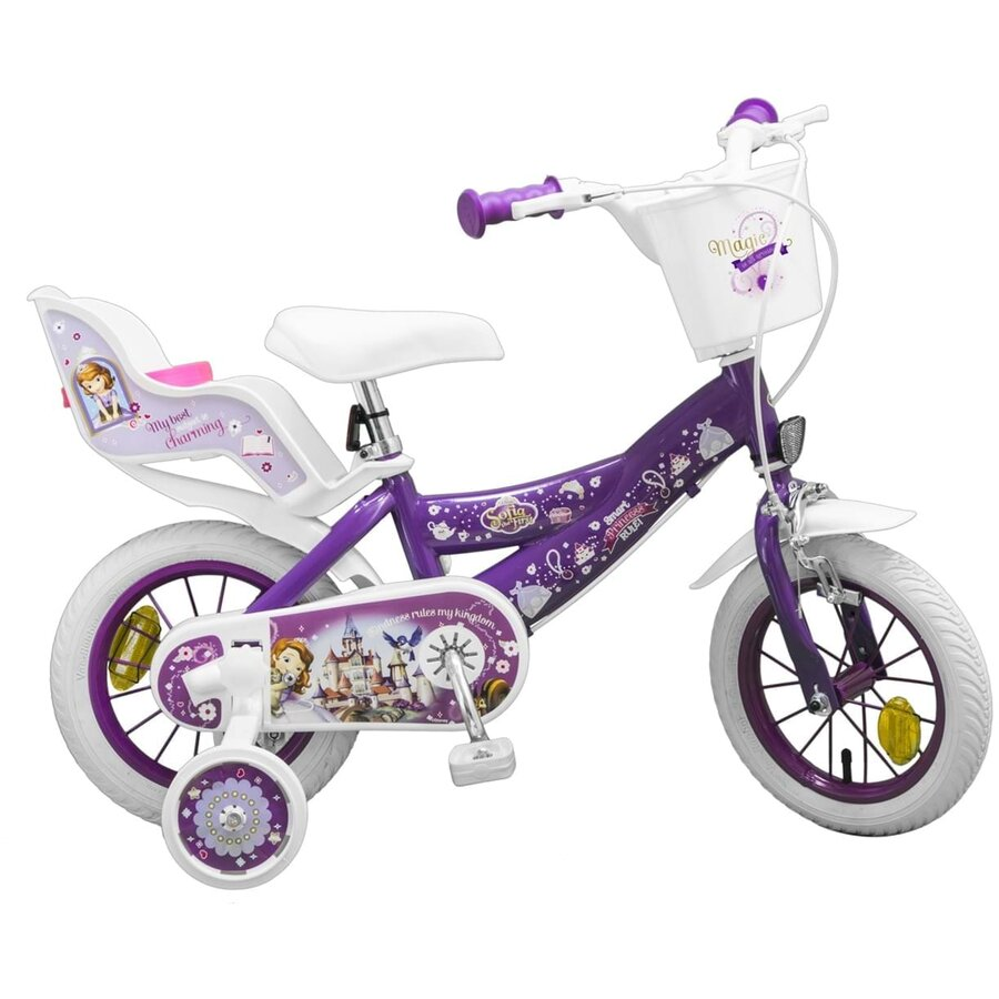 Bicicleta copii 12 inch Sofia the First