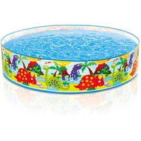 Piscina copii Happy animals Dino 122x25cm