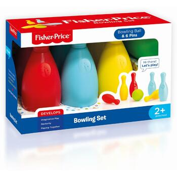 Fisher-Price Set bowling colorat