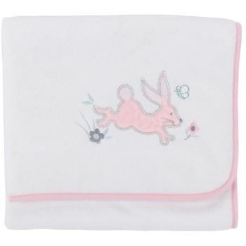 CuddleCo Paturica pufoasa din fleece 90x70 cm Comfi Love Rabbit 844302