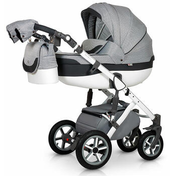 Krausman Carucior 3 in 1 Contempo Grey