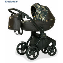 Krausman Carucior 3 in 1 Topaz Lux Dark Brown LIMITED