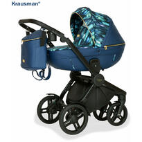 Krausman Carucior 3 in 1 Topaz Lux Dark Blue LIMITED