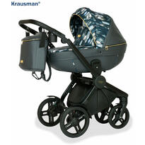 Krausman Carucior 3 in 1 Topaz Lux Dark Gray LIMITED