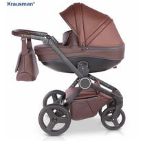 Krausman Carucior 3 in 1 Ego Brown