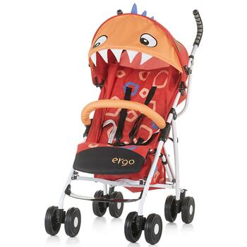Chipolino Carucior sport Ergo red baby dragon
