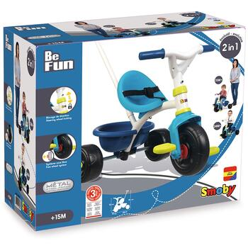 Smoby Tricicleta Be Fun blue