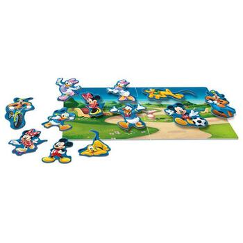 Dino Toys Puzzle magnetic - Mickey si prietenii (16 piese)