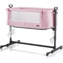 Chipolino Patut Co-Sleeper Close To Me pink