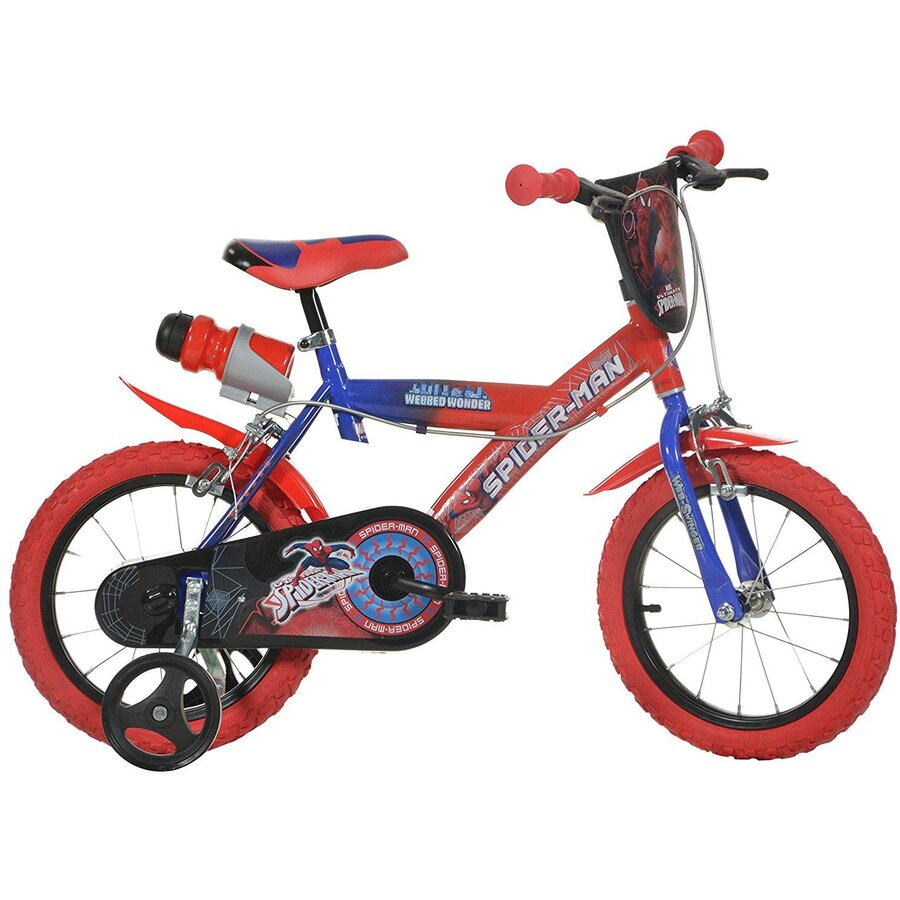 Bicicleta copii 16 inch - SPIDERMAN