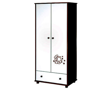 Klups Mobilier Teddy with stars wenge 2