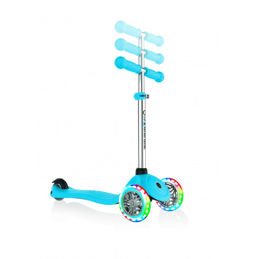 Trotineta Primo V2 Lights Sky Blue