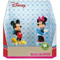 Bullyland Set Minnie si Mickey Love