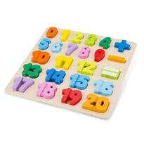 New Classic Toys Puzzle Numere