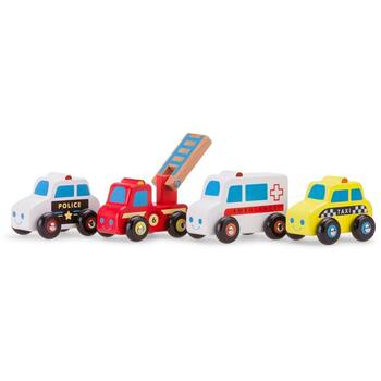 New Classic Toys Set 4 vehicule