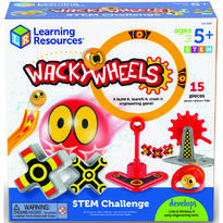 Learning Resources Set STEM - Wacky Wheels