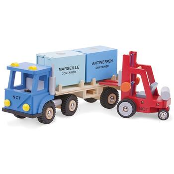 New Classic Toys Camion cu 2 containere