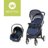 4baby Carucior sport  Travel System Navy Blue