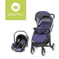 4baby Carucior sport  Travel System Purple