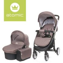 Carucior ATOMIC 2 in 1 Brown