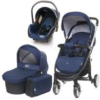 4baby Carucior  ATOMIC 3 in 1 Navy Blue