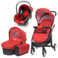 4baby Carucior  ATOMIC 3 in 1 Red