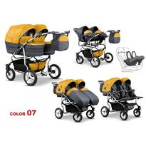 Carucior gemeni TWIN T-07 3 in 1