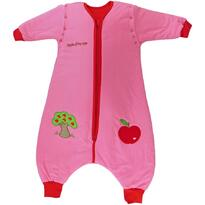 Slumbersac Sac de dormit cu picioruse si maneca lunga detasabila Apple of my eye 3-4 ani 2.5 Tog