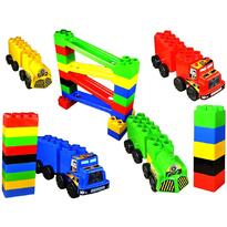Super Plastic Toys Set de constructie gigant Car Race